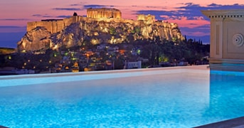 Pool at King George Palace | Athens, Greece