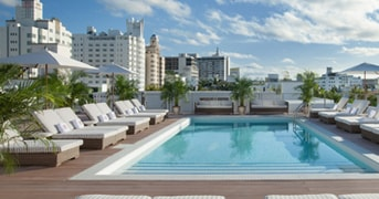 Rooftop Pool at Redbury South Beach