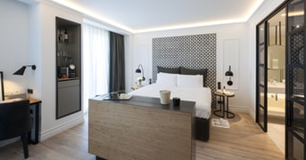 Guestroom at The Serras, Barcelona, Spain