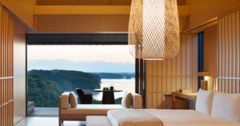 Nagi Suite at Amanemu, Shima shi, Japan