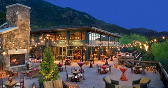 Terrace Dine at The Broadmoor, Colorado Springs, CO