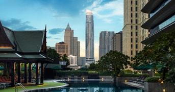 Outdoor Pool at The Athenee Hotel Bangkok, Thailand