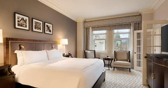 Guest Room at Fairmont Chateau Laurier, Ottawa, ON, Canada