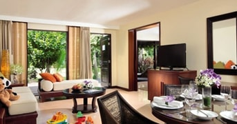 Suite Lounge at Moevenpick Resort and Spa Karon Beach Phuket, Thailand