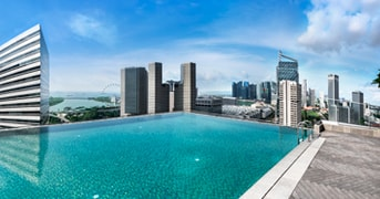 Andaz Singapore Outdoor Pool