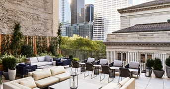 Terrace Lounge at Park Terrace Hotel, New York, NY