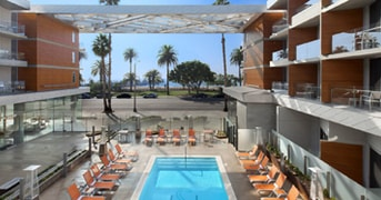 Outdoor Pool at Shore Hotel Santa Monica, United States