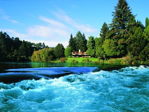 The Huka Lodge, New Zealand