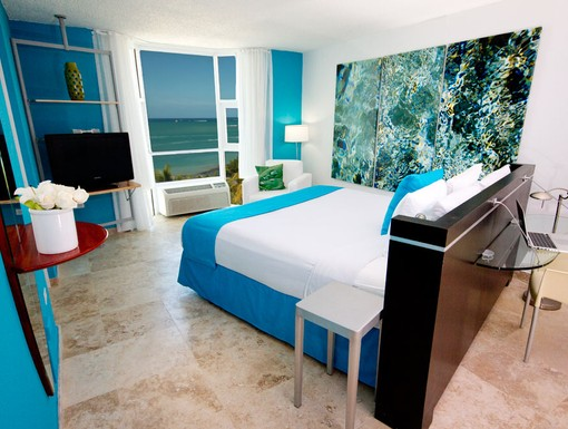 Guestroom at San Juan Water and Beach Club Hotel