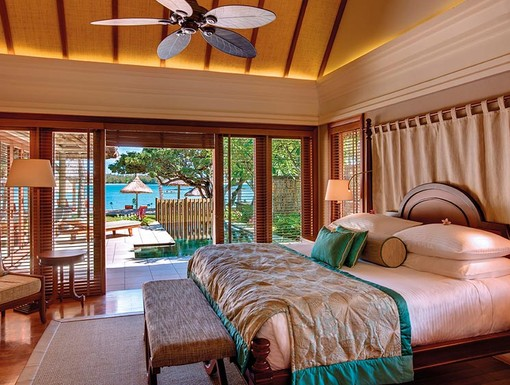 Constance Le Prince Maurice Villa Master Bedroom, Mauritius