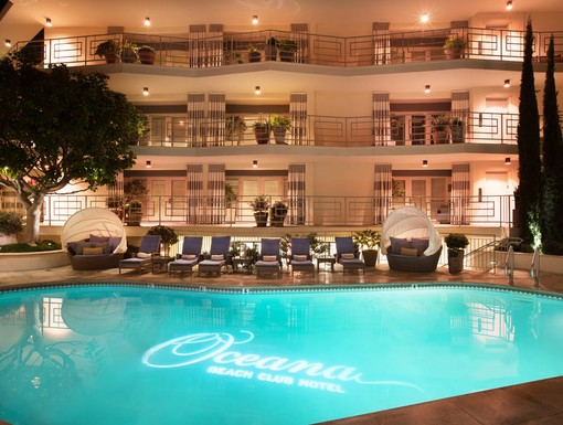 Oceana Beach Club Hotel, Santa Monica, CA