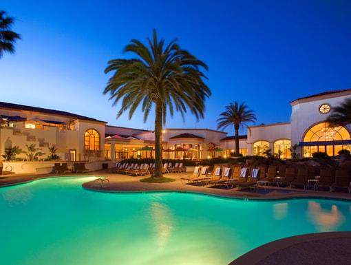 Hilton Waterfront Beach Resort Newport Ca Five