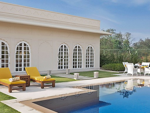 Luxury Villa at The Oberoi Sukhvilas Spa Resort, NEW CHANDIGARH, INDIA