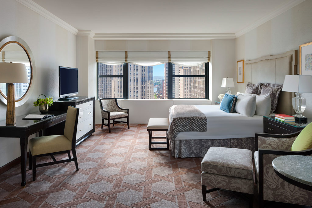 Cathedral Corner King Guest Room at The Lotte New York Palace, New York, NY