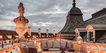 Dome Penthouse Terrace at Cafe Royal Hotel, London, United Kingdom