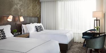 Double Guest Room at Kimpton Hotel Van Zandt, Austin, TX