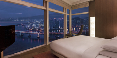 Executive Guest Room at Park Hyatt Busan, South Korea