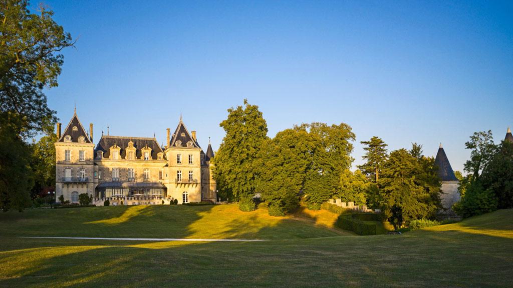 Chateau de Mirambeau, France