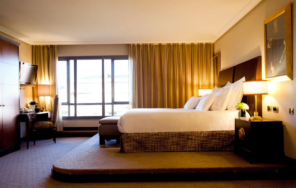 Guest Room at Hesperia Madrid, Madrid, Spain