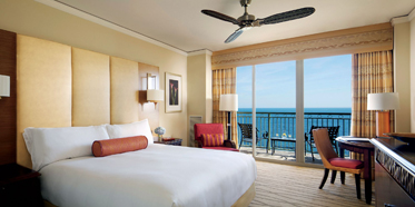 Guest Room at The Ritz-Carlton Key Biscayne, FL