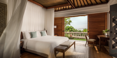 Guest Room at Four Seasons Bali Jimbaran Bay, Bali, Indonesia