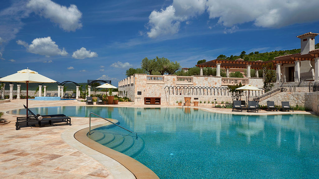 Outdoor Pool at Park Hyatt Mallorca, Balearic Islands, Spain