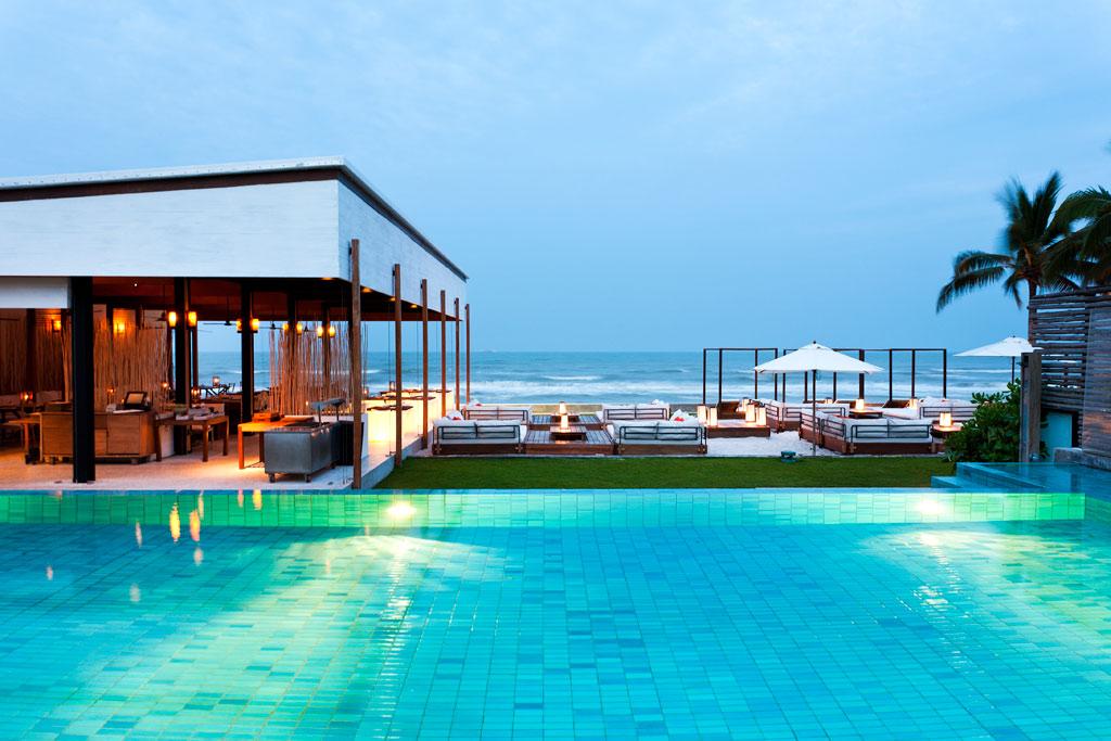 Ocean Side Pool at Putahracsa Hua Hin, Hua Hin, Thailand