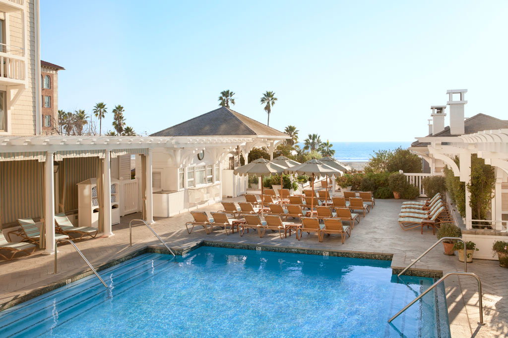 Outdoor Pool at Shutters On The Beach, Santa Monica, CA