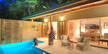 Pool Villa at Casa Chameleon at Mal Pais, Costa Rica