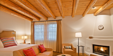 Premier King Guest Room at Rosewood Inn of the Anasazi, Santa Fe, NM