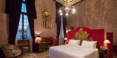 Guest Room at Palazzo Venart, Venezia, Italy