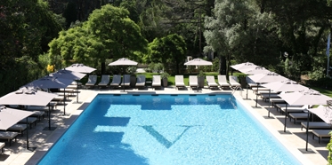 Outdoor Pool at Le Vallon de Valrugues, Saint Remy De Provence, France