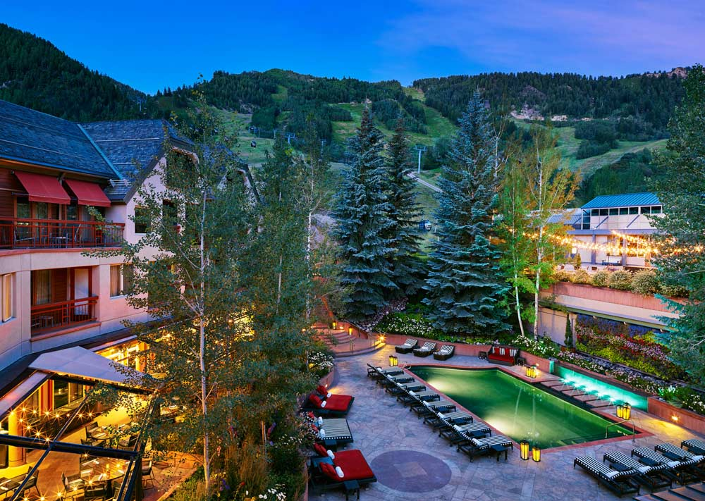 Summer Evenings at The Little Nell, Aspen, CO