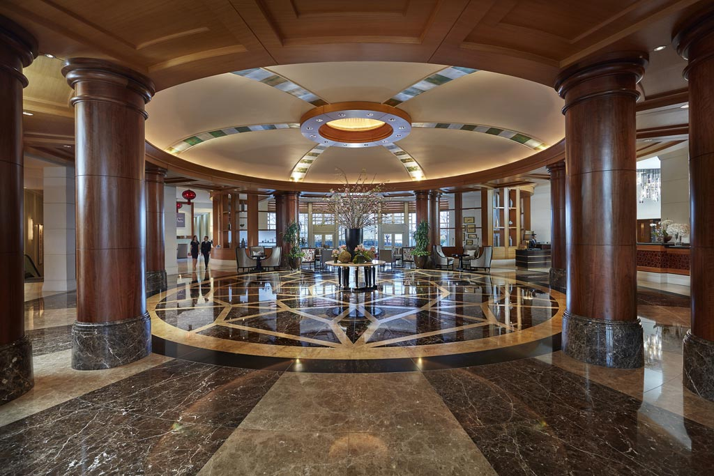Lobby of Mandarin Oriental Washington, DC, United States
