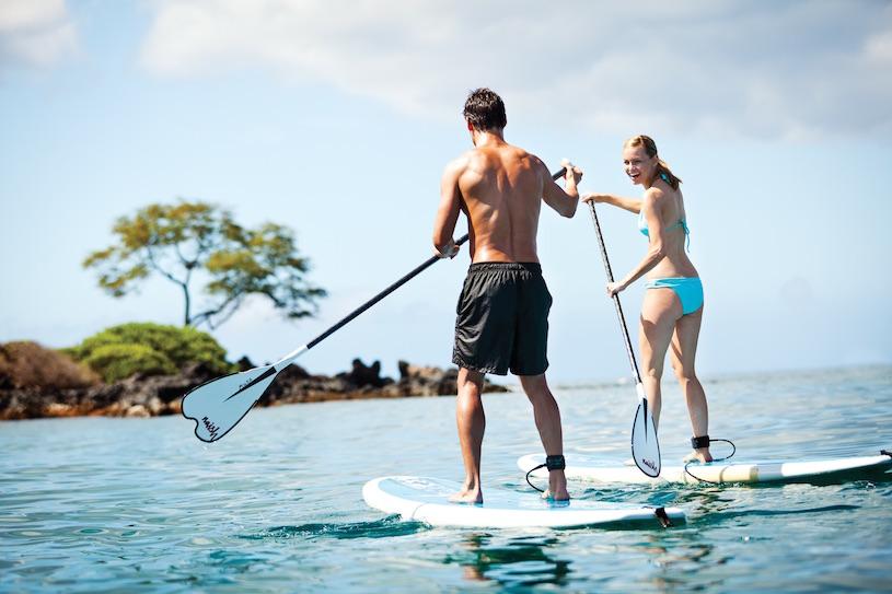 Four Seasons Maui at Wailea Paddleboarding