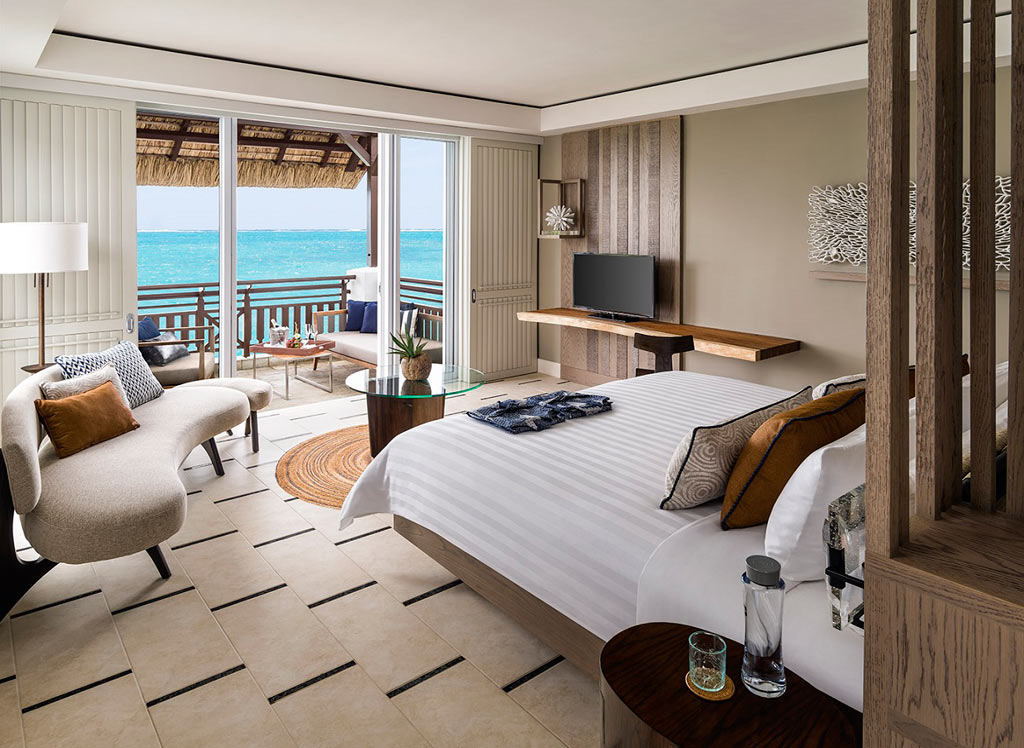 Frangipani Ocean View Junior Suite at Shangri-La's Le Touessrok Resort, Trou d'Eau Douce, Mauritius