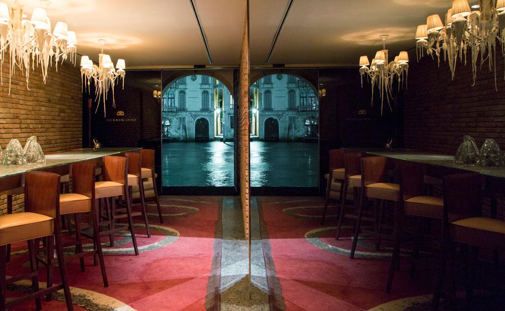 Krug Lounge at Palazzina G, Venice, Italy