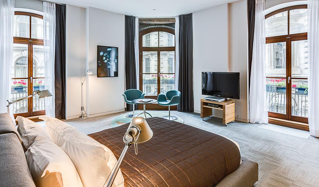 Corner Suite at Hotel Gault, Montreal, Quebec, Canada