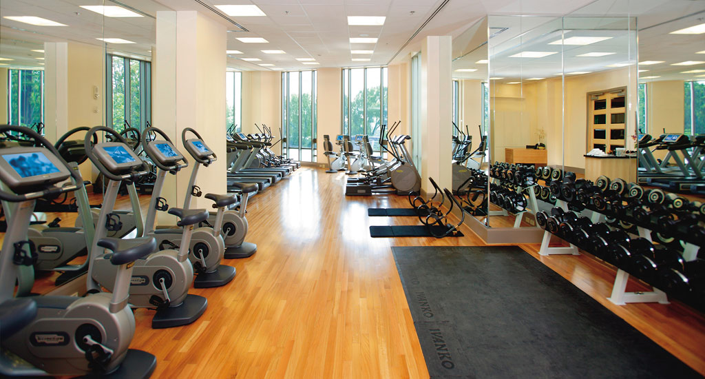 Gym at Mandarin Oriental Washington, DC, United States