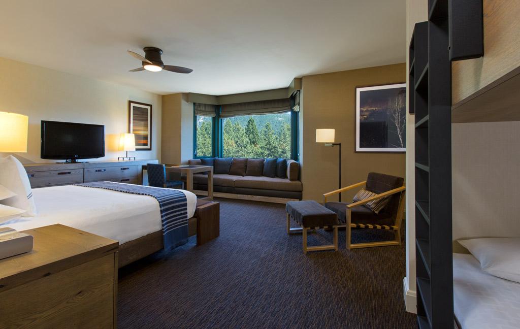 Family Suite at Hyatt Regency Lake Tahoe Resort Spa and Casino, Incline Village, NV