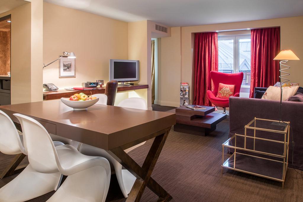 Suite Living at Auberge Saint-Antoine, Quebec City, PQ, Canada