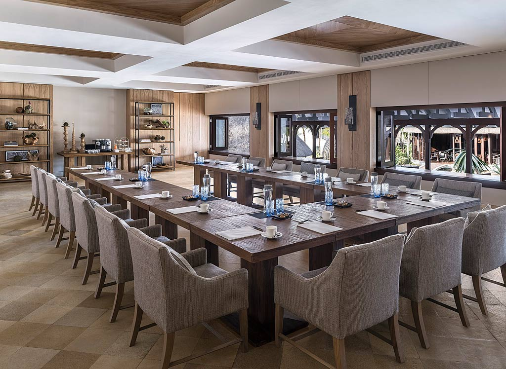 Meeting Room at Shangri-La's Le Touessrok Resort, Trou d'Eau Douce, Mauritius