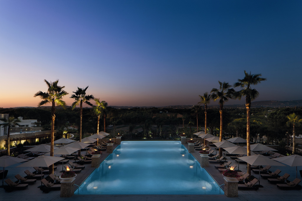 Outdoor Infinity Pool at Conrad Algarve, Algarve, Portugal