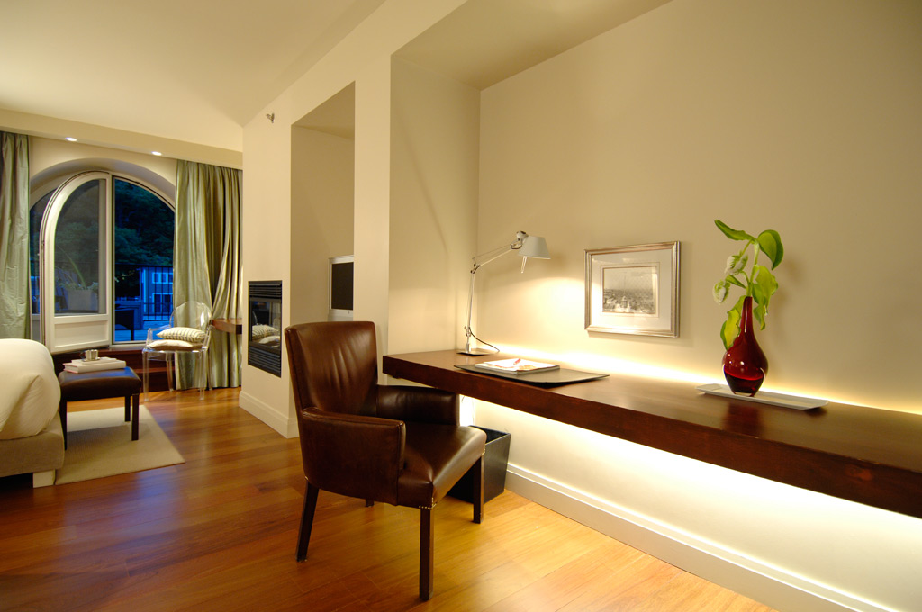 Luxe Terrace Room at Auberge Saint-Antoine, Quebec City, PQ, Canada