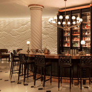 Bar at Four Seasons Hotel London at Ten Trinity Square, UK