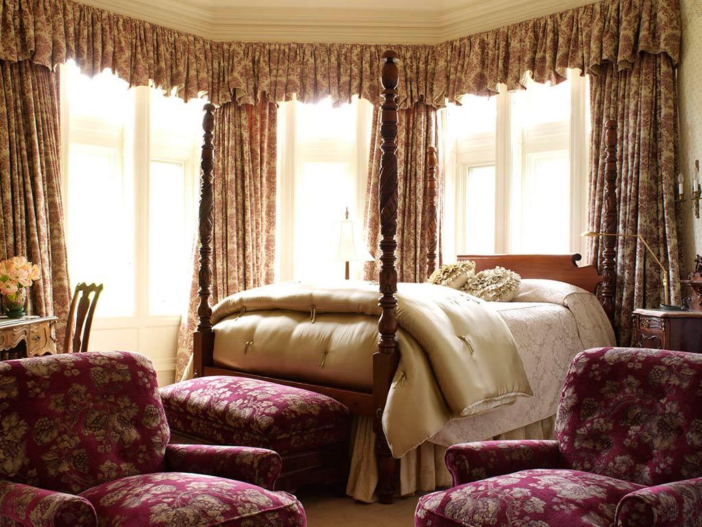 Crimson Guest Room at Blantyre, Lenox, MA