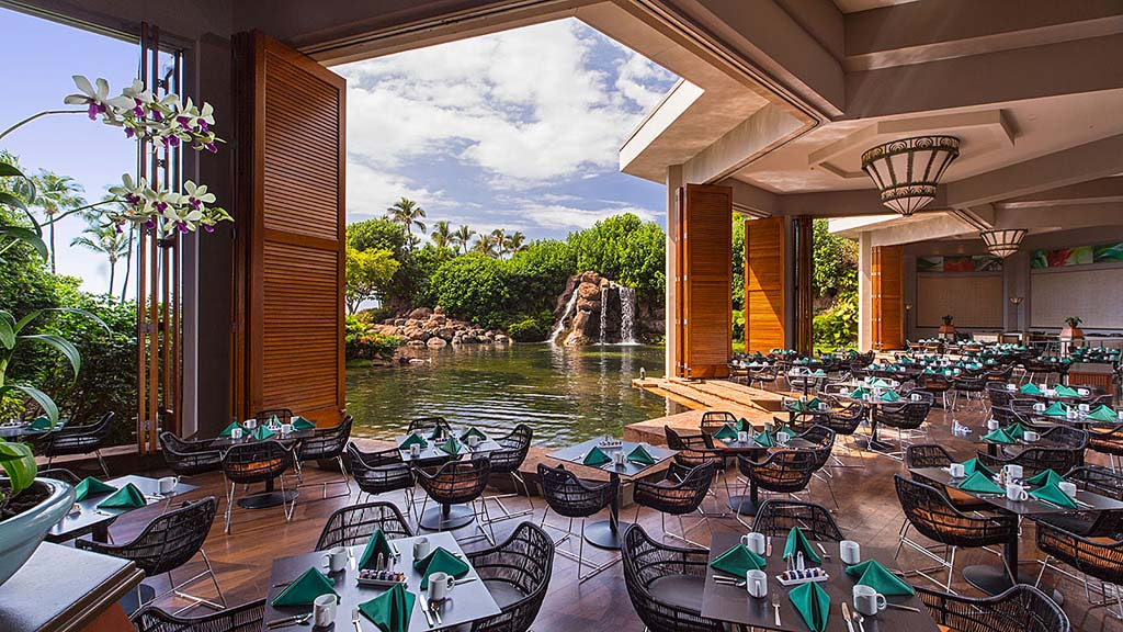 Dine with River Views at Hyatt Regency Maui Resort And Spa, Kaanapali, HI