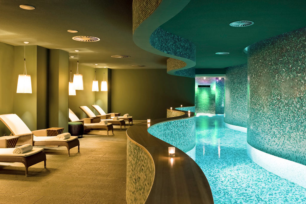 Indoor Pool at Sofitel Hamburg Alter Wall, Hamburg, Germany