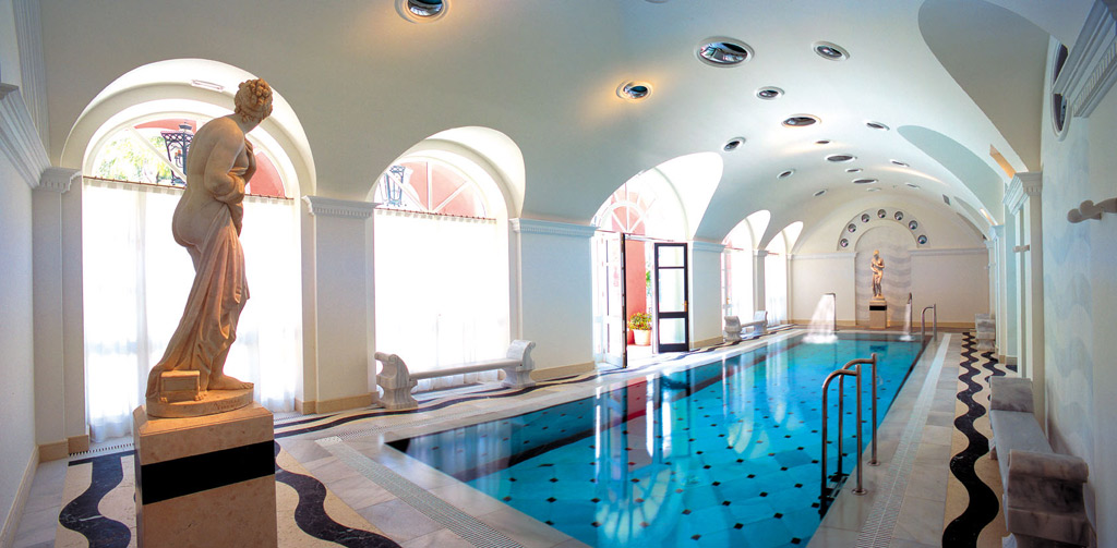 Indoor Pool at Hotel Villa Padierna, Marbella, Spain