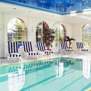Indoor Pool at Chateau D